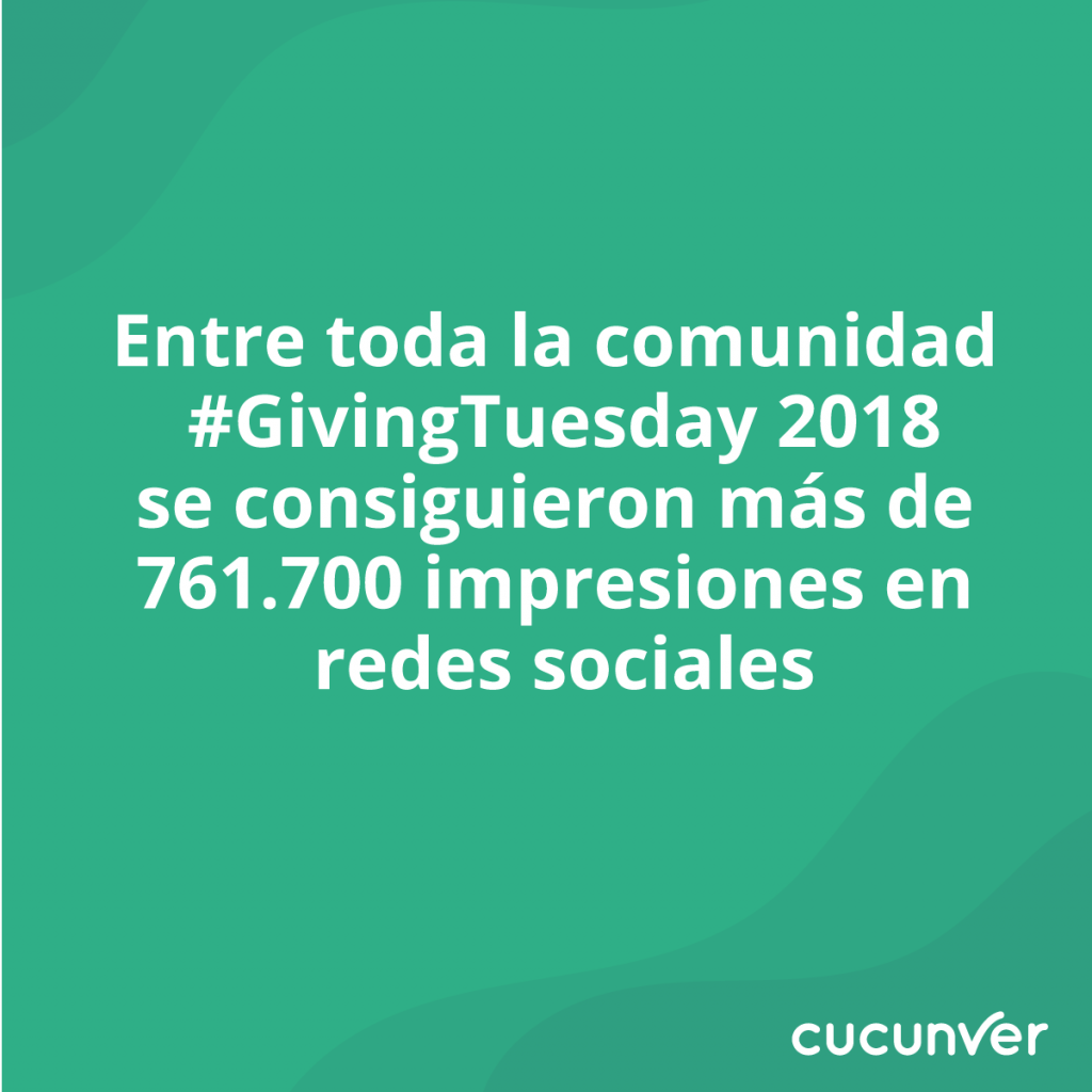 giving tuesday redes sociales